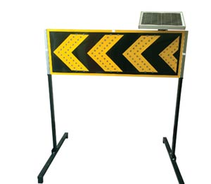 Solar Arrow board | Road Safety | Breakers