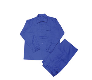 safety cotton pants and shirts