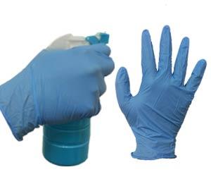 nitrile examination gloves in Qatar | Powder free Nitrile Gloves | Examination Gloves
